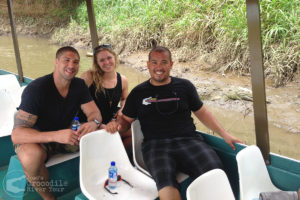 Professional UFC fighters Ronda Rousey and Brendan Schaub on our tour