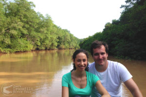 Photo opportunity in the mangrove forest canals