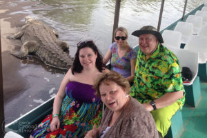 Family enjoying our tour
