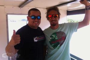 Professional surfer Rob Machado on our tour
